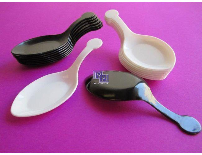 Cucharas de plástico de degustación - 2400 unidades