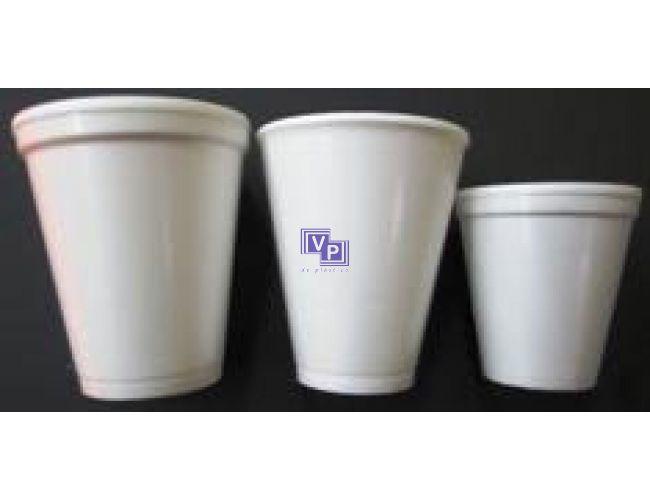 Vasos Porex / Foam - 4 oz 120cc - 1000 unidades