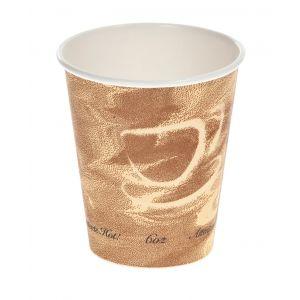 Vaso de Carton de pared  gruesa - Diseño MISTIQUE - 7,54 X 8 - 6 oz. 177 c.c. 1000 unidades. (mismo diametro que el 378)