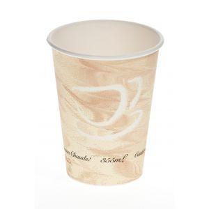 Vaso de Carton de pared  gruesa - Diseño MISTIQUE - 8,99 X 11,12 - 12 oz . 355 c.c - 1000 unidades