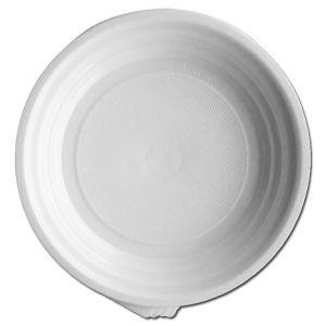 Platos de plástico blanco 17 cm - 2000 unidades