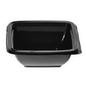 Envase Cuadrados Negro  con tapa separada (PET)  -  MANI   - 250  c.c.   -  400 Unidades