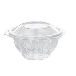 Envase redondo con tapa de PET    - 250  c.c.   -  300 Unidades