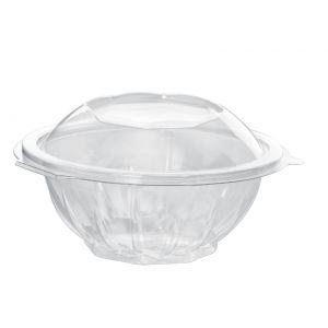 Envase redondo con tapa de PET    - 500  c.c.   -  300 Unidades