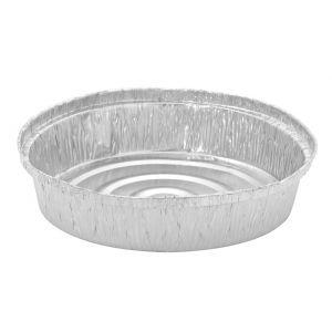 Envase de aluminio redondo  1900 cc. - 21.7 Ø x 7 cm - 500 Unidades