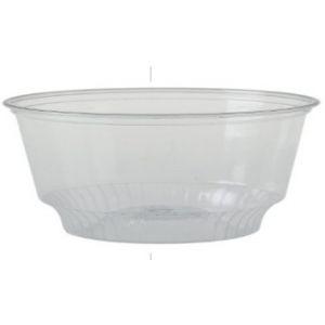 Tarrina de Plástico redonda de Pet Gama SOLOSERVE   - 8 oz 237 c.c. - 1000 Unidades