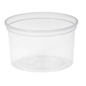 Tarrina de Plástico Translucida  de Poliestileno Inyectado Soufflé Cups de SOLOCUP - 1 oz. 30 ml  - 5000 Unidades