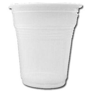 """Vasos de plástico Blanco """"Irrompibles"""" 100cc - 4800 unidades"""